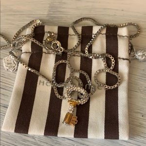 Henri bendel long key necklace